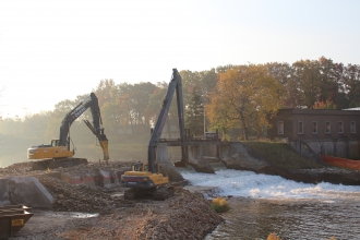 Michels completed the dam removal and river restoration.