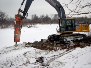 Michels performed the environmental restoration of 155 acres within a Chicago park.