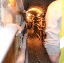 Michels installed 7,000 feet of 2-inch conduit in a utility tunnel system in Minnesota.