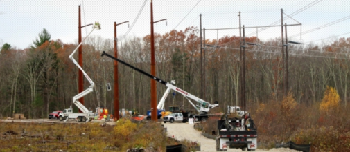 This Michels project consists of building 38 miles of transmission line as well as rebuilding nine miles of existing line in Massachusetts and Rhode Island.